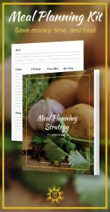 Meal Planning Kit ad