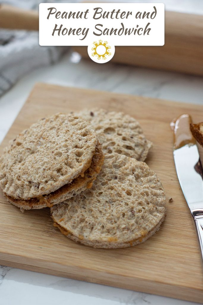 Quick and Easy Kid-Approved Peanut Butter and Honey Sandwich