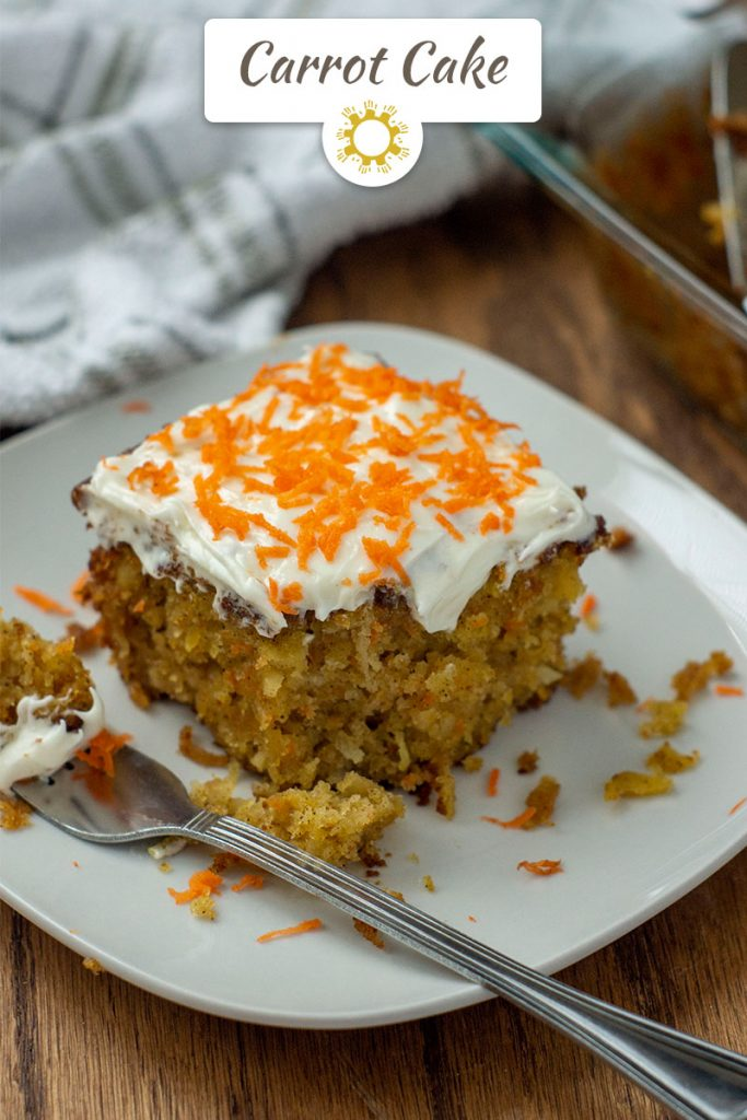 Carrot Cake with Pineapple Filling