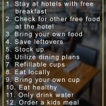 12 Tips to Save Money while on a Family Trip