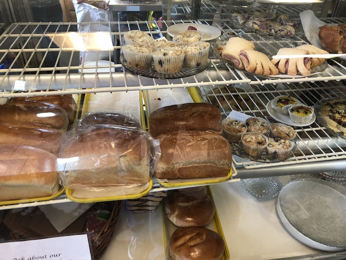 My Vacation in Food: Part 3: A small selection of delicious baked goods at Bearclaw Bakery