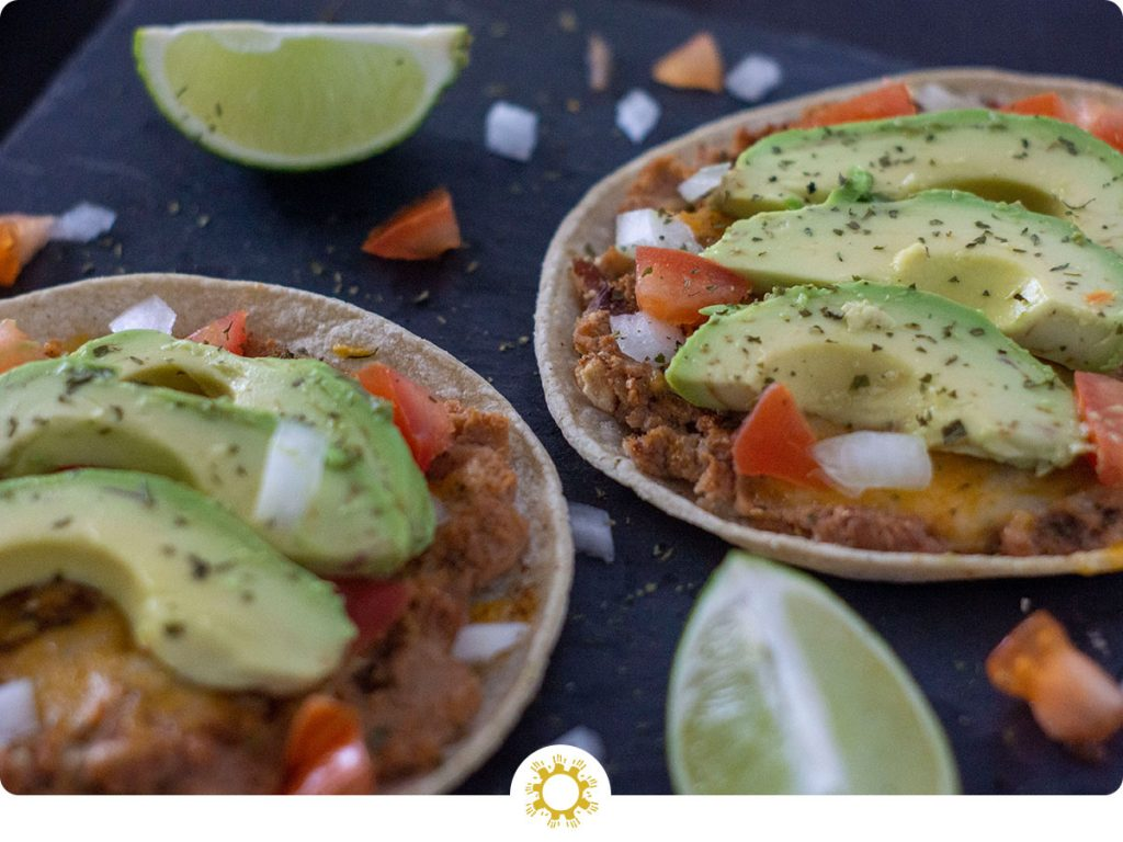 Bean and Cheese Tostadas