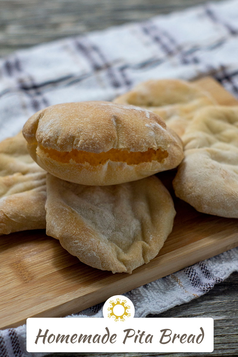 Pita Bread Pockets From Scratch