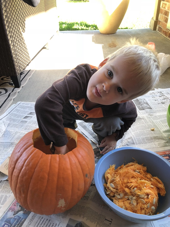 Pumpkin Puree from Scratch