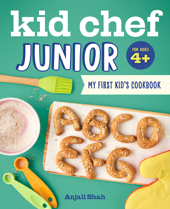 Kid Chef Junior cookbook cover