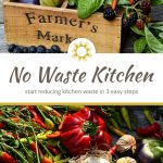 No Waste Kitchen: Getting Started in 3 Steps