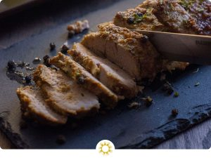 Marinated Baked Pork