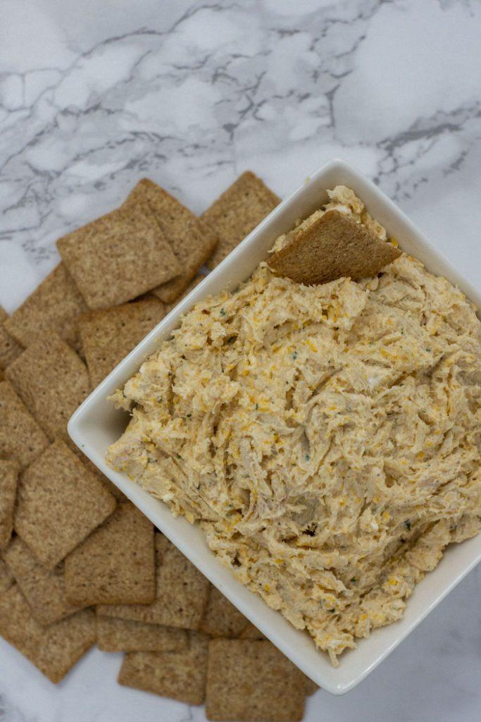 Cheesy Ranch Chicken Dip