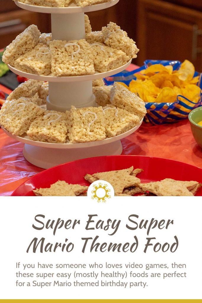 Super Easy Super Mario Themed Food