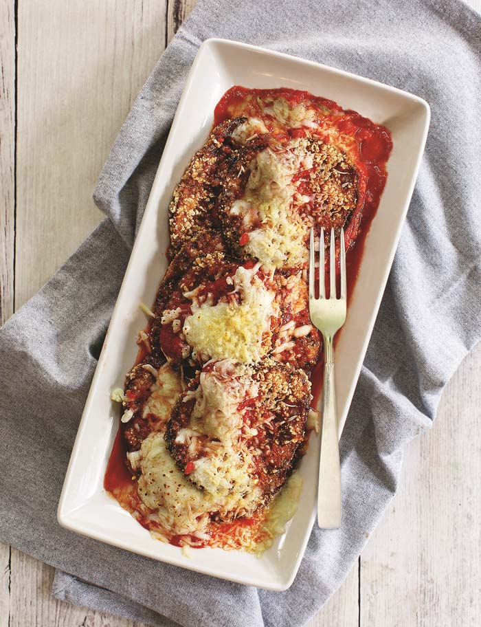 Eggplant Parmesan from The Ultimate Cooking For One Cookbook